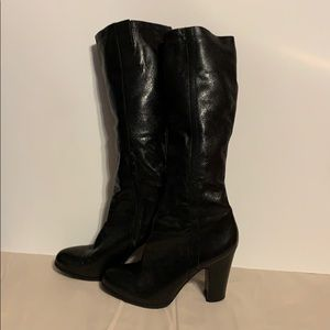 Nine West  black boots almost new